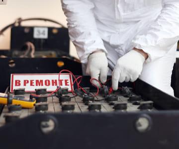 Фото ремонта батарей